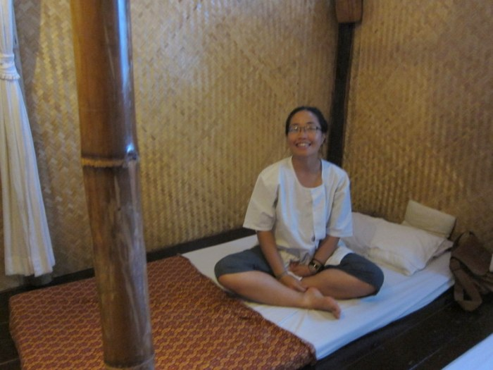 waiting for traditional Thai massage