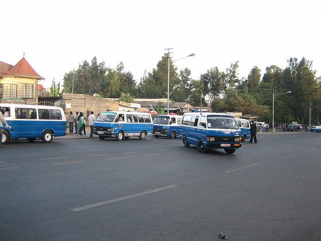Addis Ababa minibuses