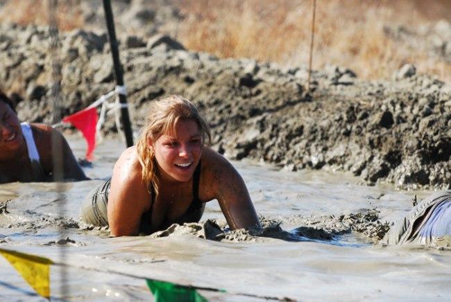 Survivor mud run California