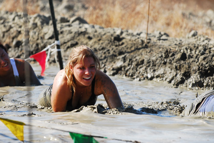 Survivor mud run California