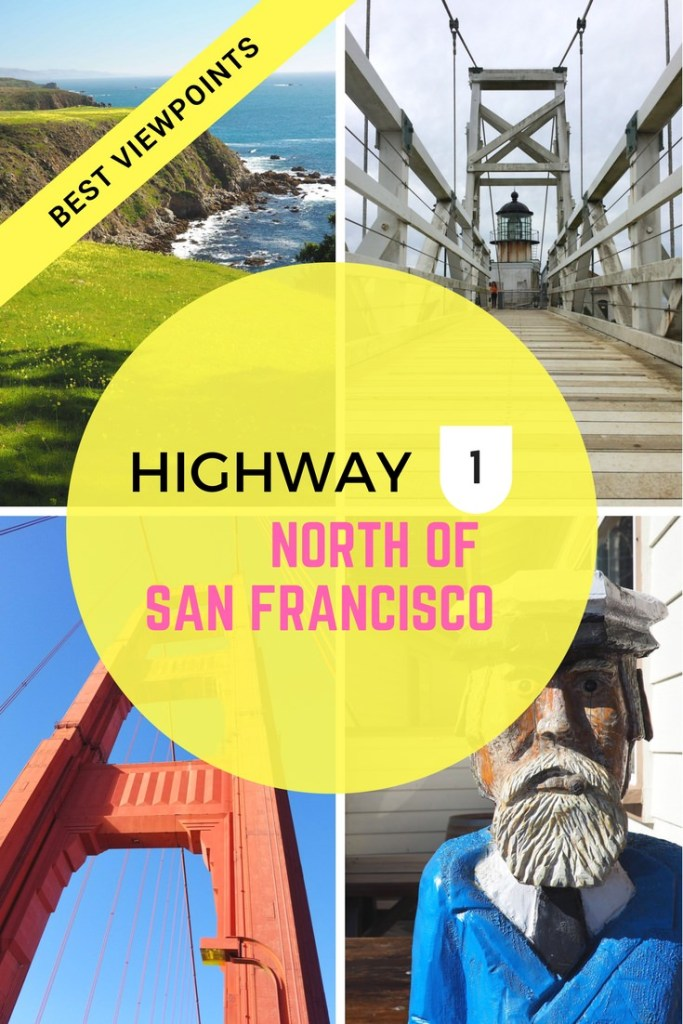 Best Viewpoints on Highway One North of San Francisco