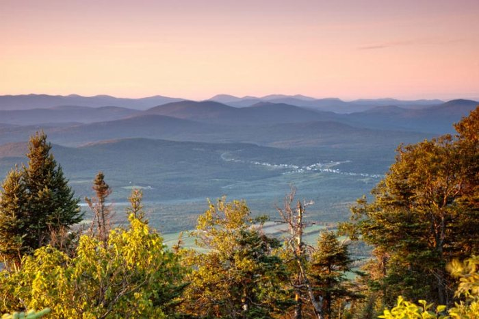 Mont Megantic, Eastern Townships, Quebec