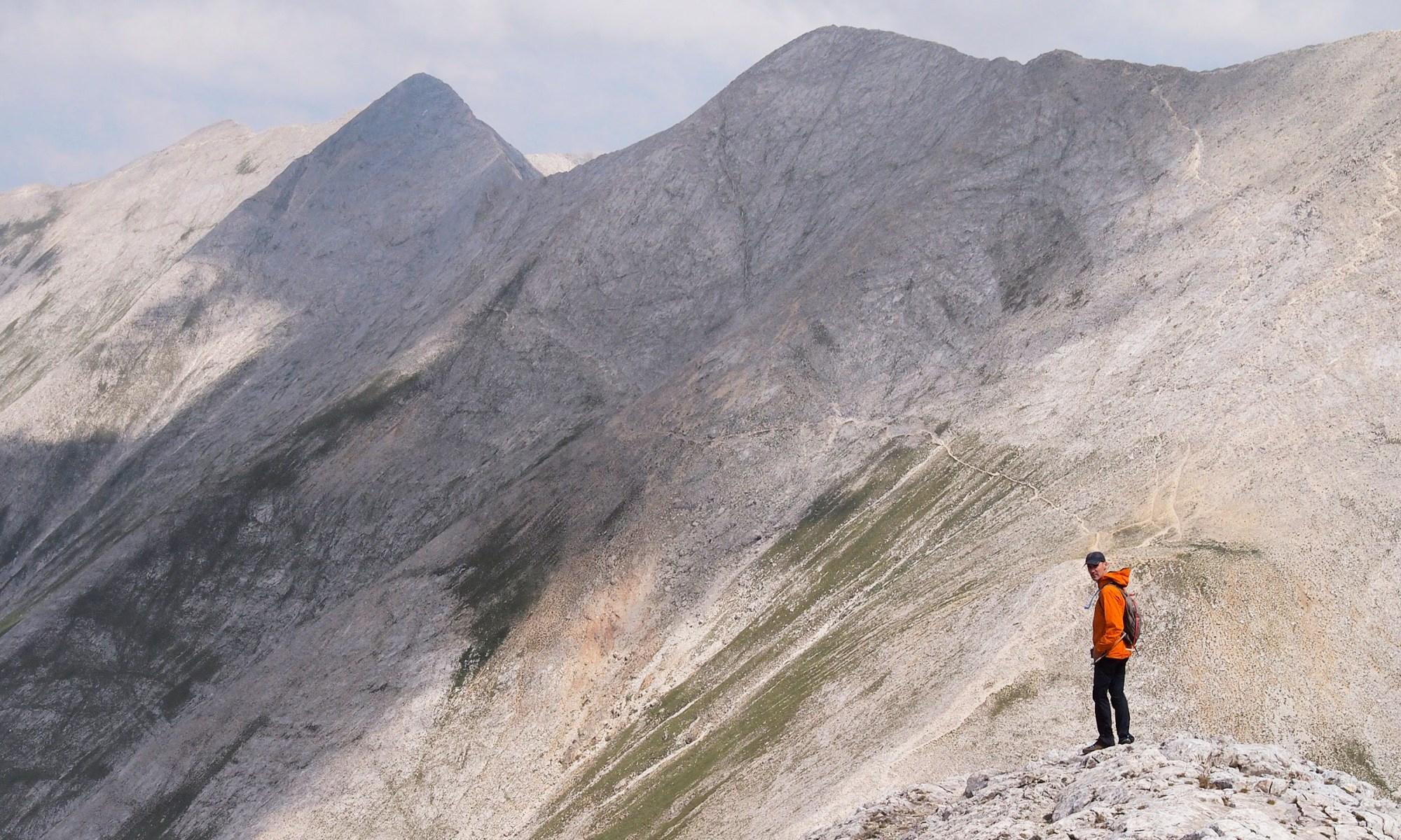 View of Koncheto Ridge from Mt. Vihren
