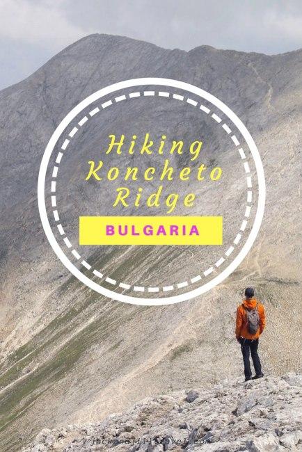 Hiking the Koncheto in Bulgaria Pirin National Park