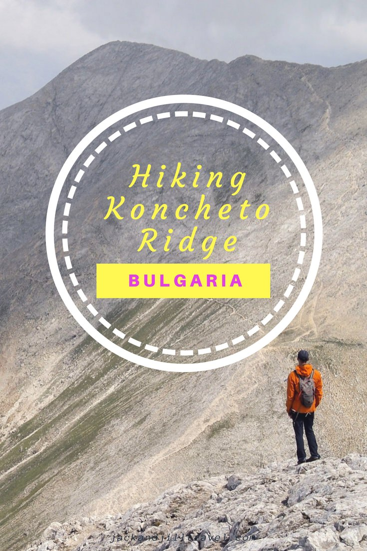 Hiking the knife edge ridge of Koncheto in Bulgaria's Pirin National Park