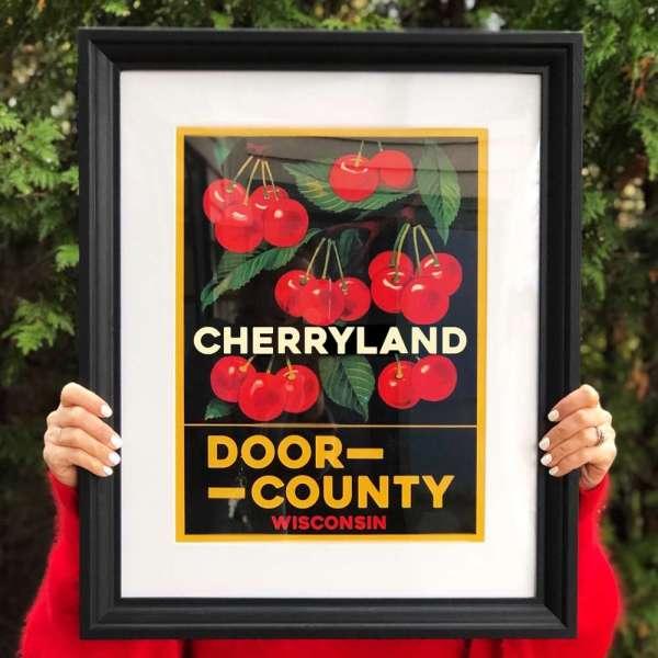 Door County Cherryland Poster
