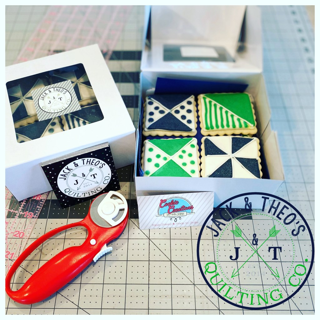 A Box of Quilt Cookies - Website Launch!