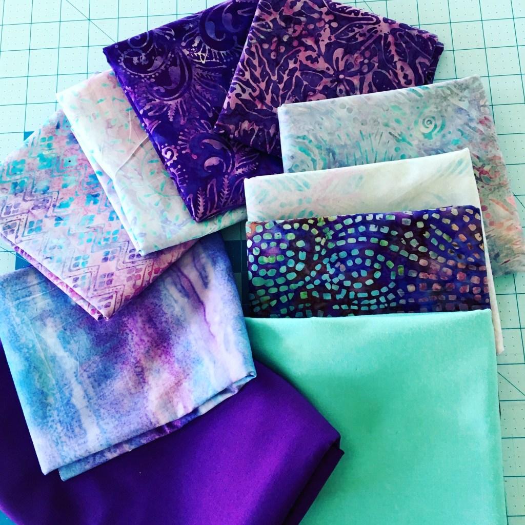 Batik Anniversary Quilt - fabric bundle