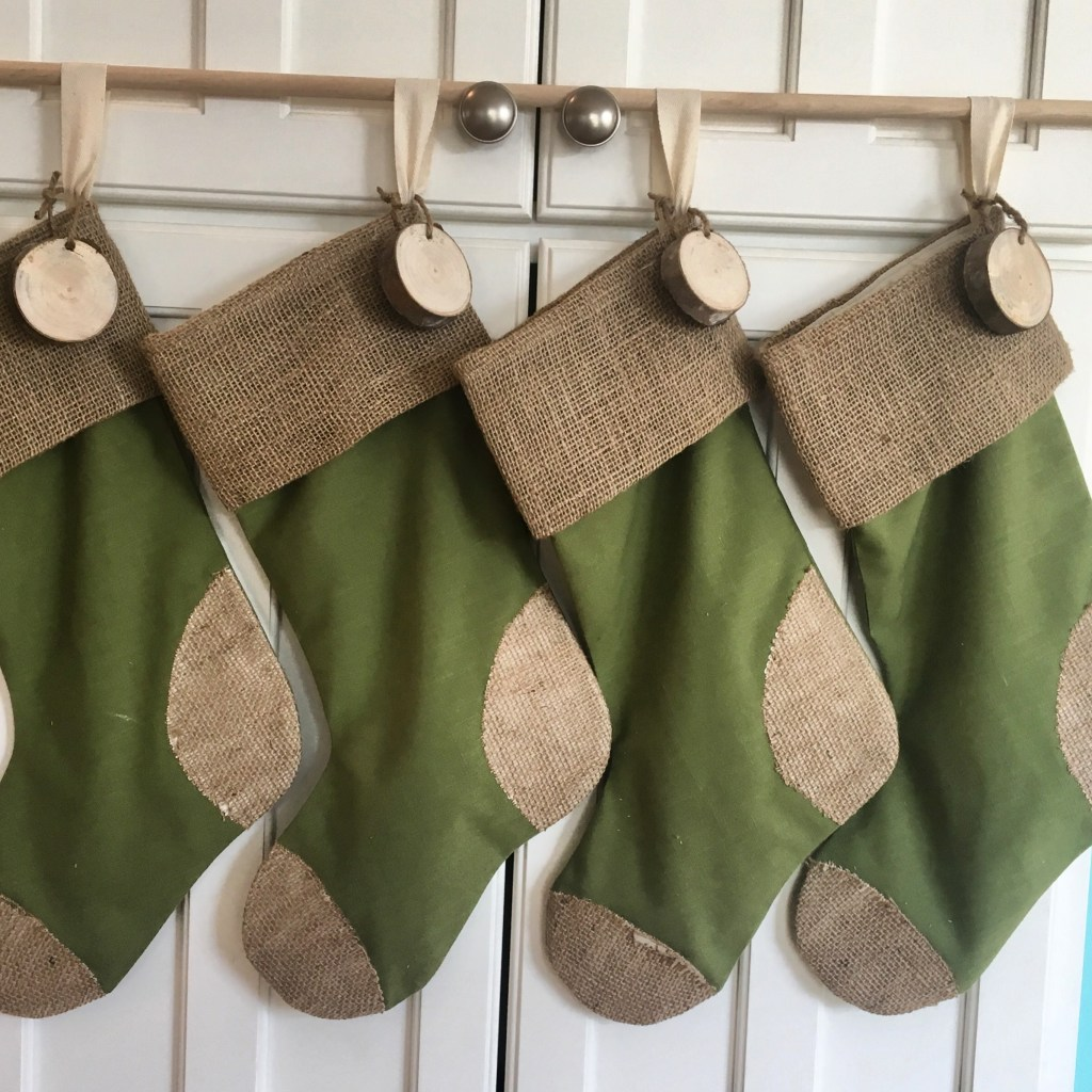Burlap & Linen Stockings
