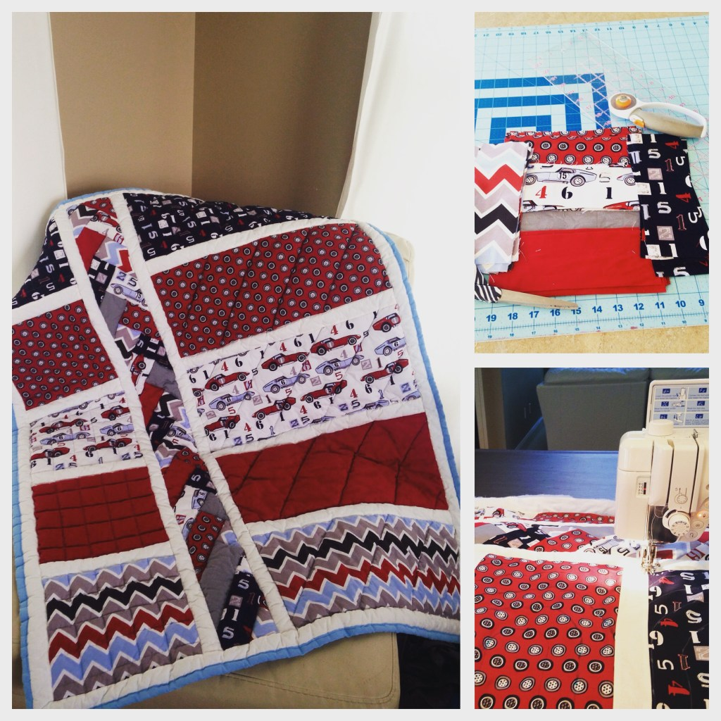 Cars Baby Quilt - Charity Quilt