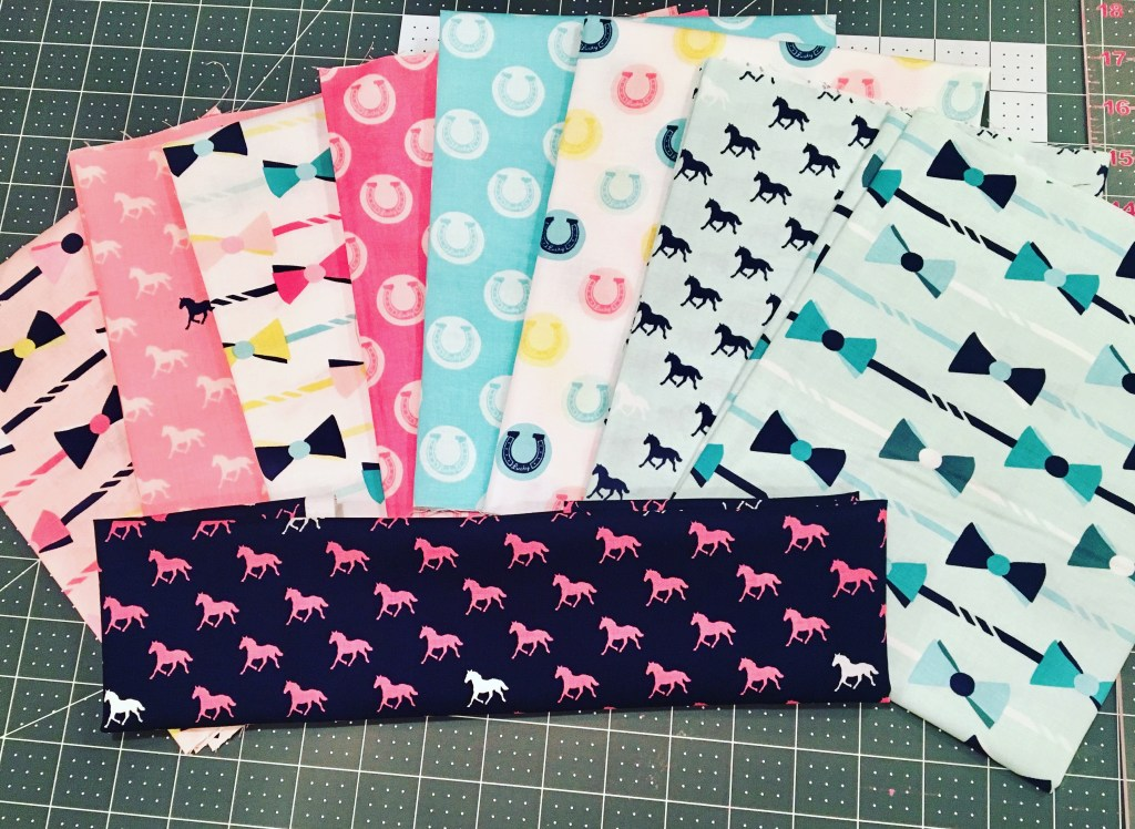 Derby for a Cure Quilts - fabric bundles
