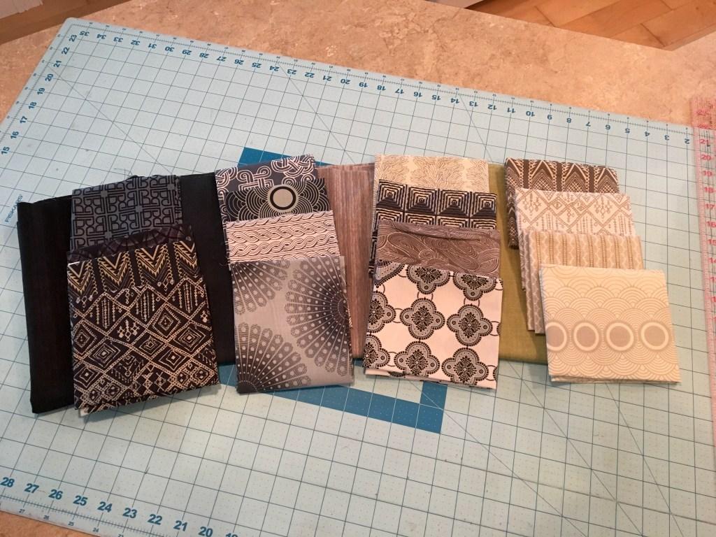 Dude Quilt fabric bundle