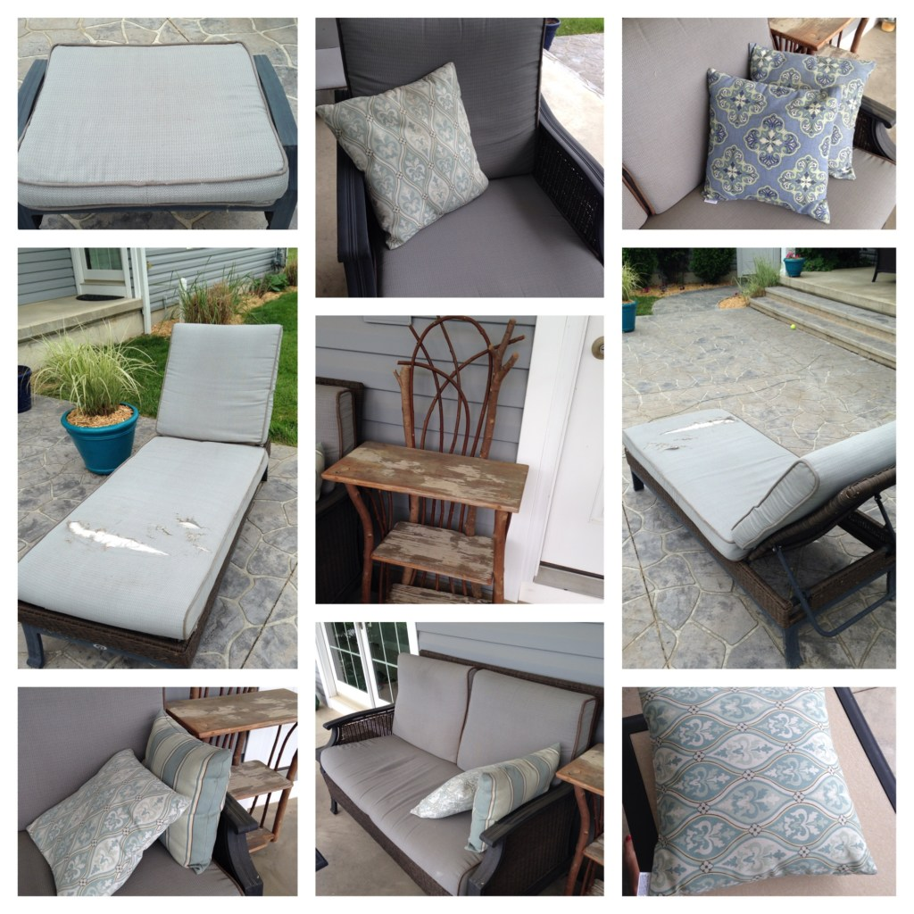 Patio Furniture Project - BEFORE