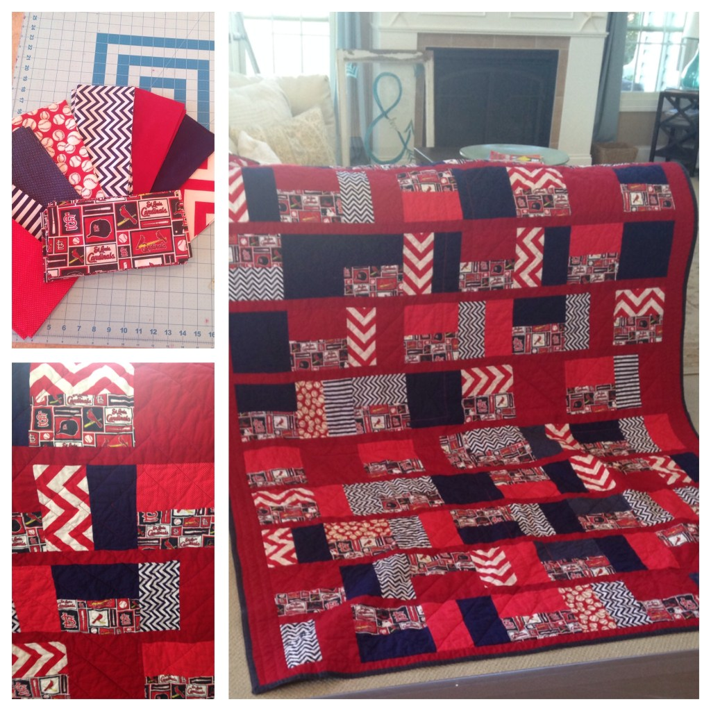 Play Ball Queen Quilt