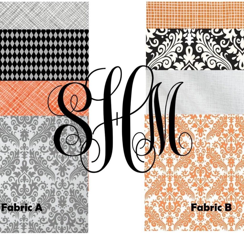 Saylor's fabric options