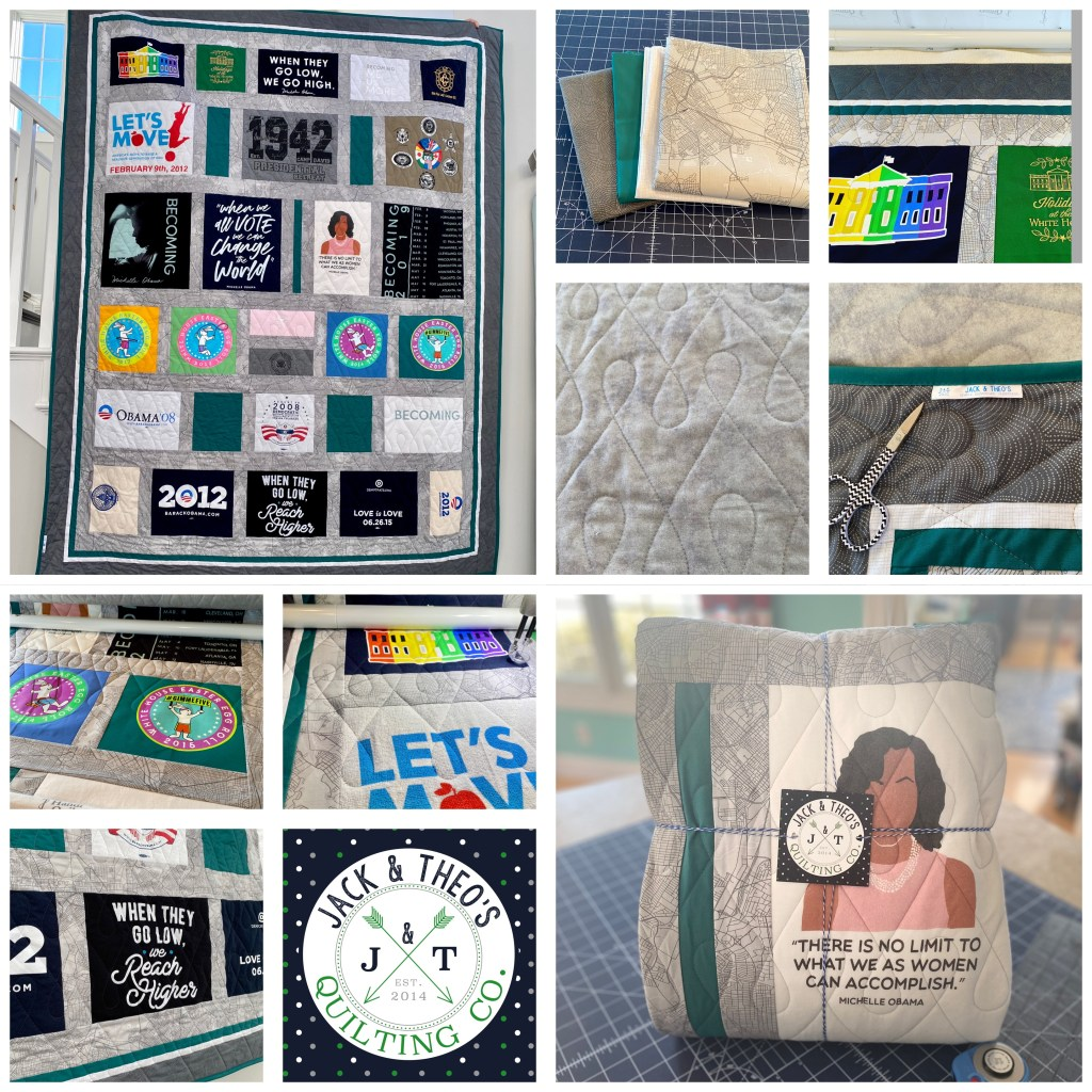 Obama Campaign - Mrs. Obama Becoming Quilt