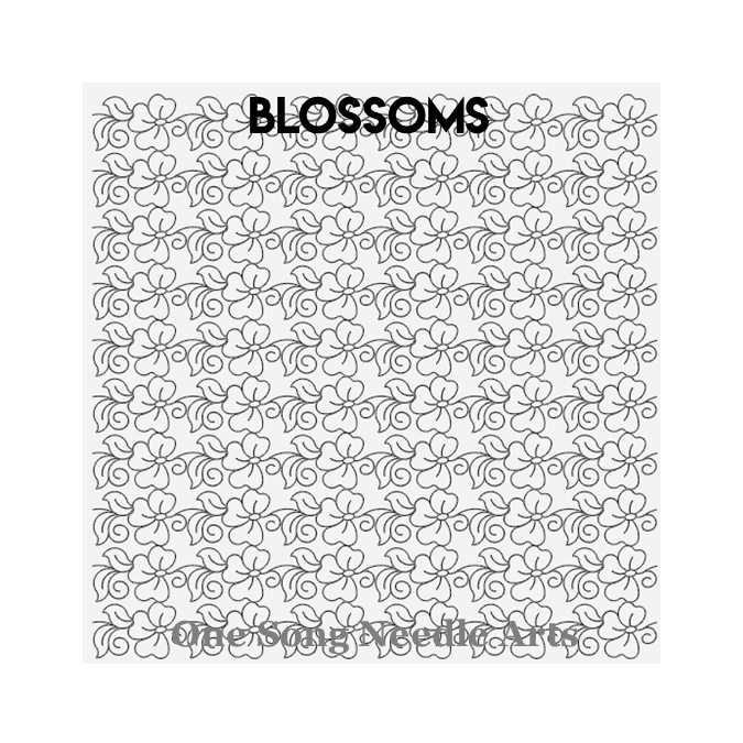 Blossoms - One Song Needle Arts