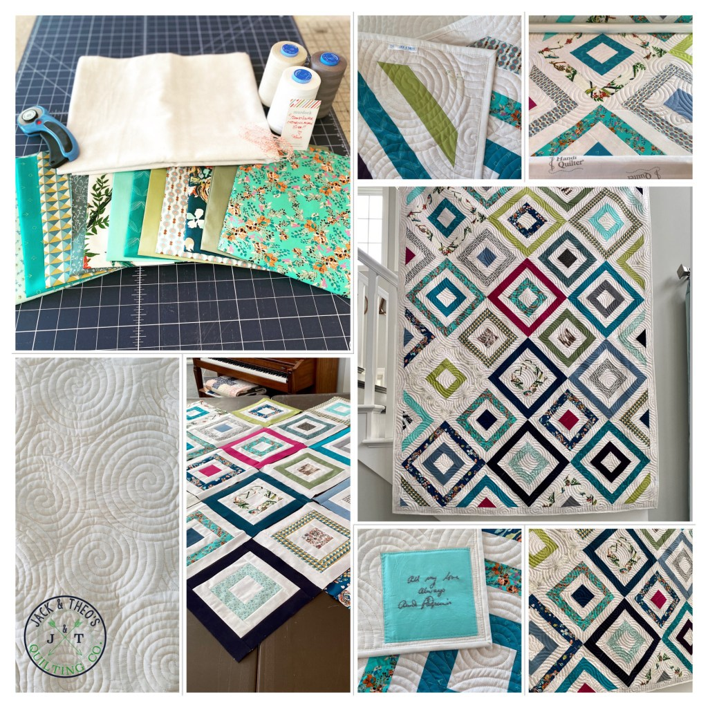 Memory Quilt - Custom Hand Embroidery