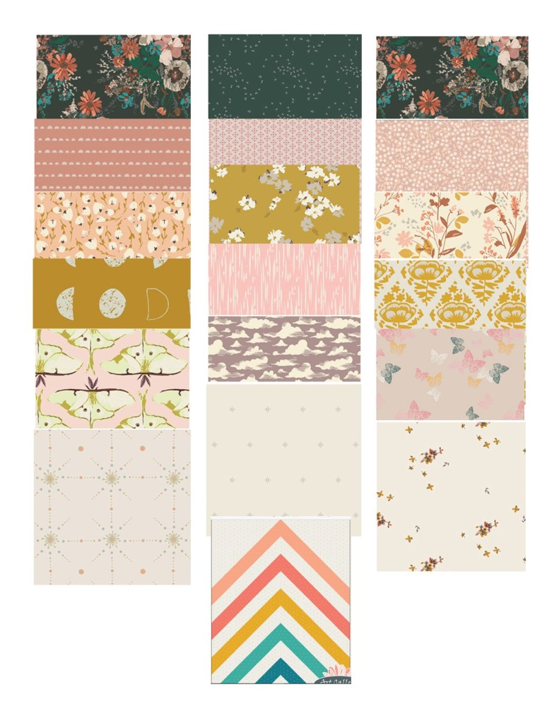 Harlow's Fabric Options - Art Gallery Fabrics