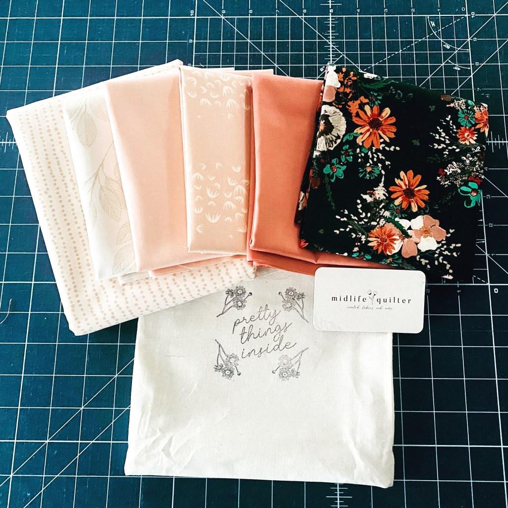 Harlow's Quilt - Custom Fabric Bundle - Art Gallery Fabrics - MidLife Quilter