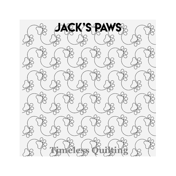 Jack's Paws - Timeless Quilting