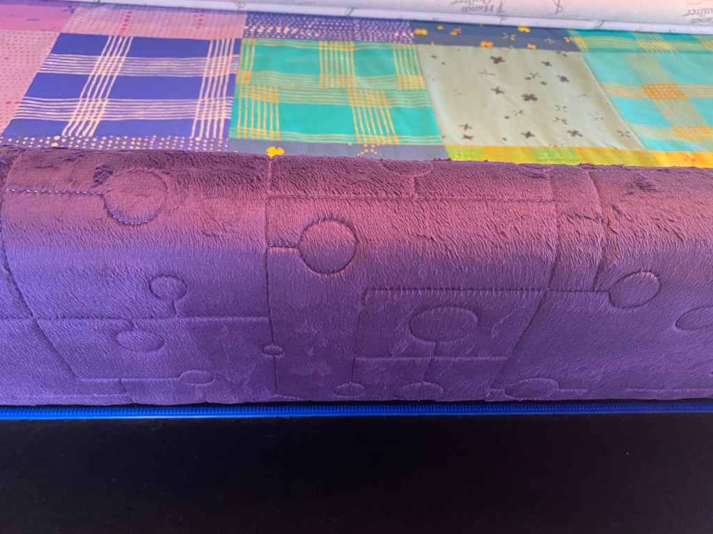 just lines and circles longarm quilting