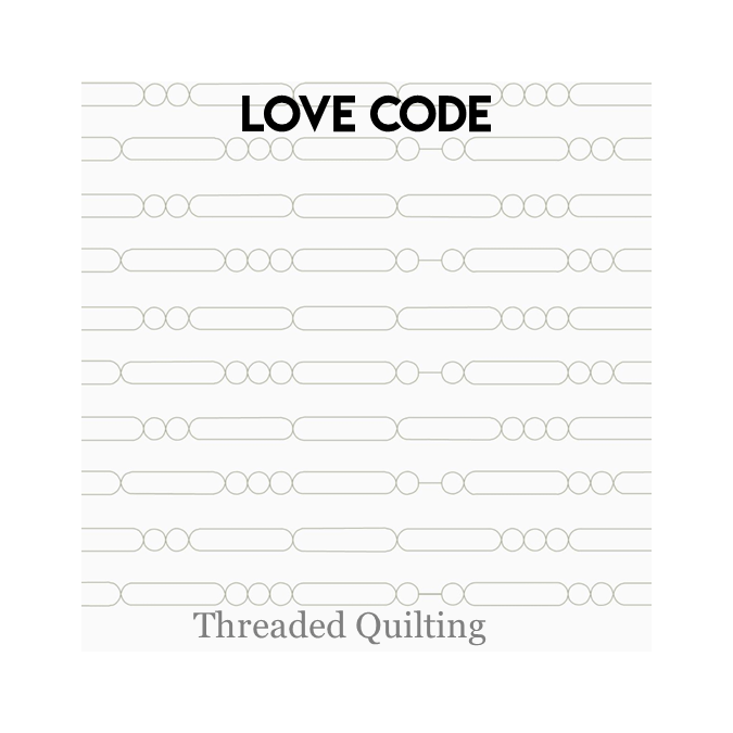 Love Code - Threaded Quilting