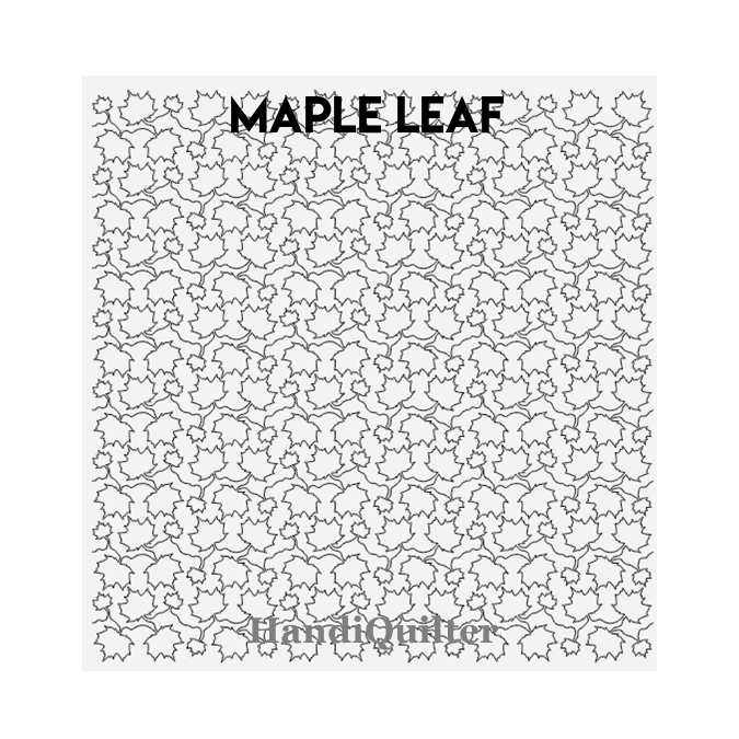 Maple Leaf - HandiQuilter