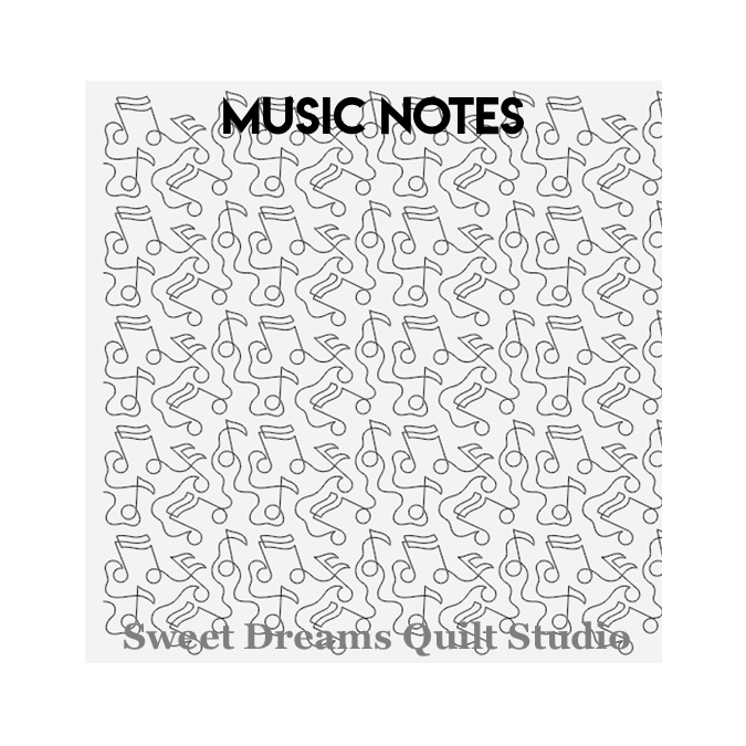 Music Notes - Sweet Dreams