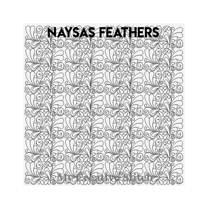 Naysas Feather - My Creative Stitch