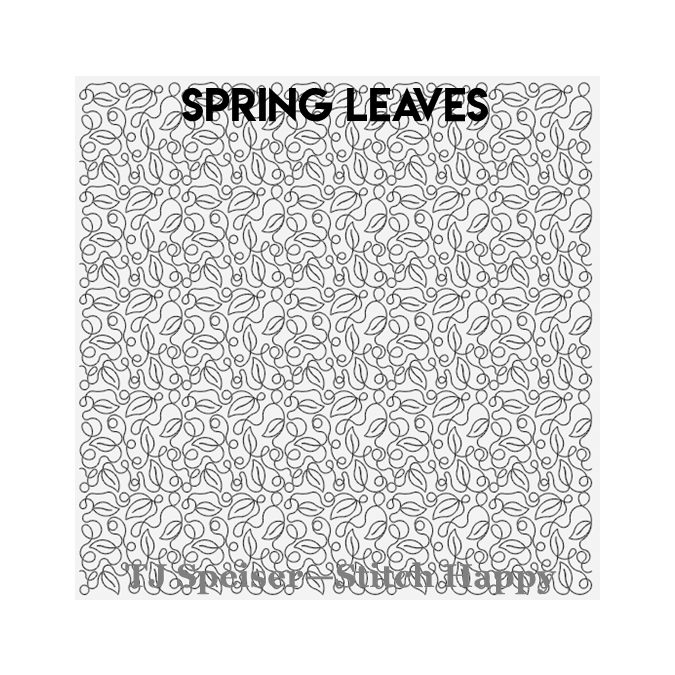 Spring Leaves - TJ Speiser Stitch Happy