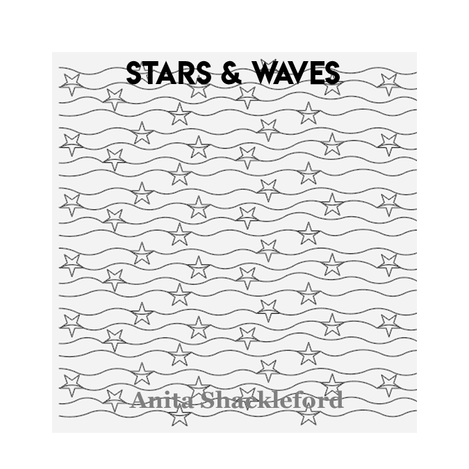 Stars and Waves - Anita Shackleford