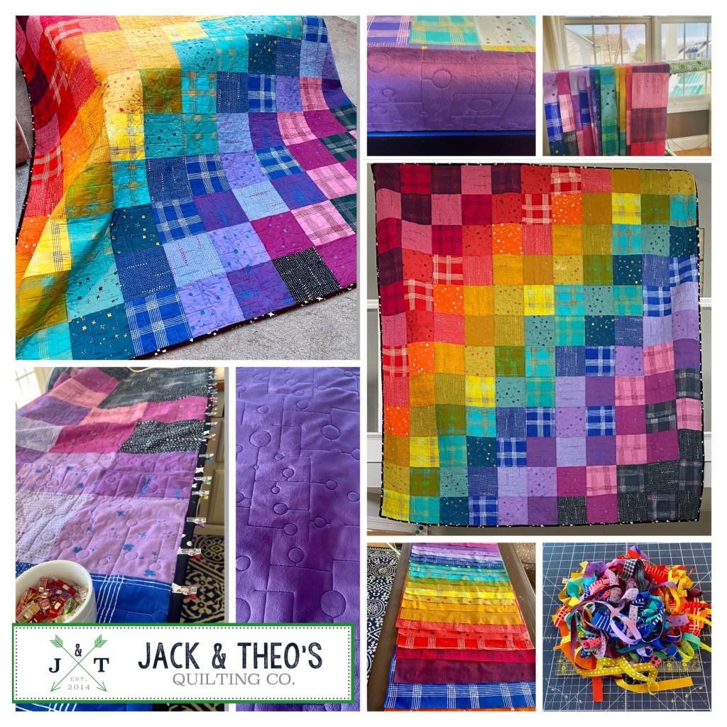Suzi's Alison Glass Chroma Quilt Kit - Andover Fabrics