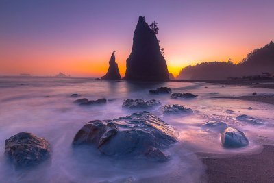Rialto Beach Twilight
