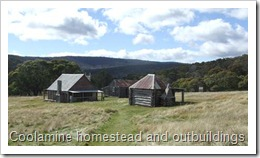 Coolamine homestead and outbuildings