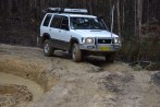 A NSW Jackaroo shows the Landy how its done