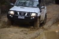 Finally the mud ends
