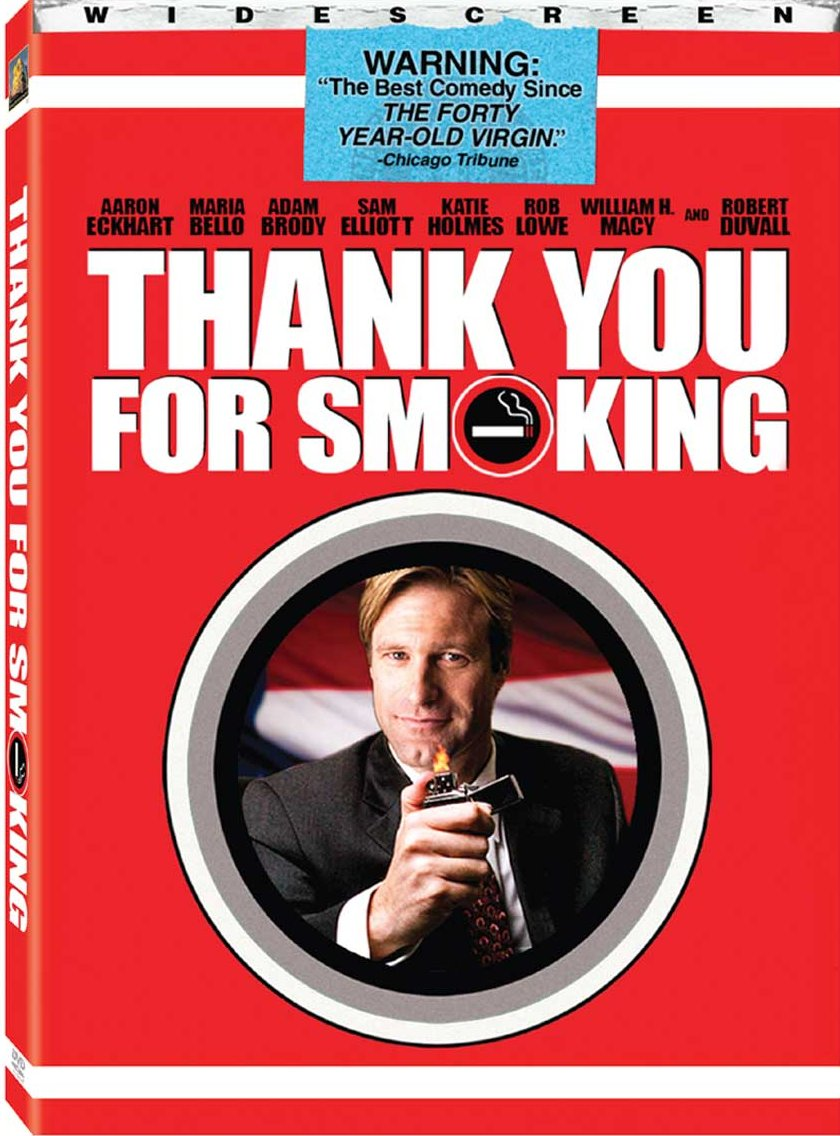 an analysis of the movie thank you smoking Thank you for smoking is a 2005 american satirical comedy film written and directed by jason reitman and starring aaron eckhart, based on the 1994 satirical novel of.