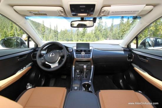 2015 Lexus 200t 2015 Lexus 300h Interior-002