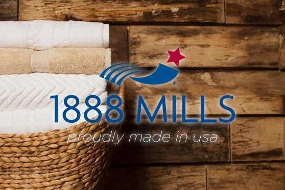 Made In The Usa 1888 Mills Towels Riverside Green