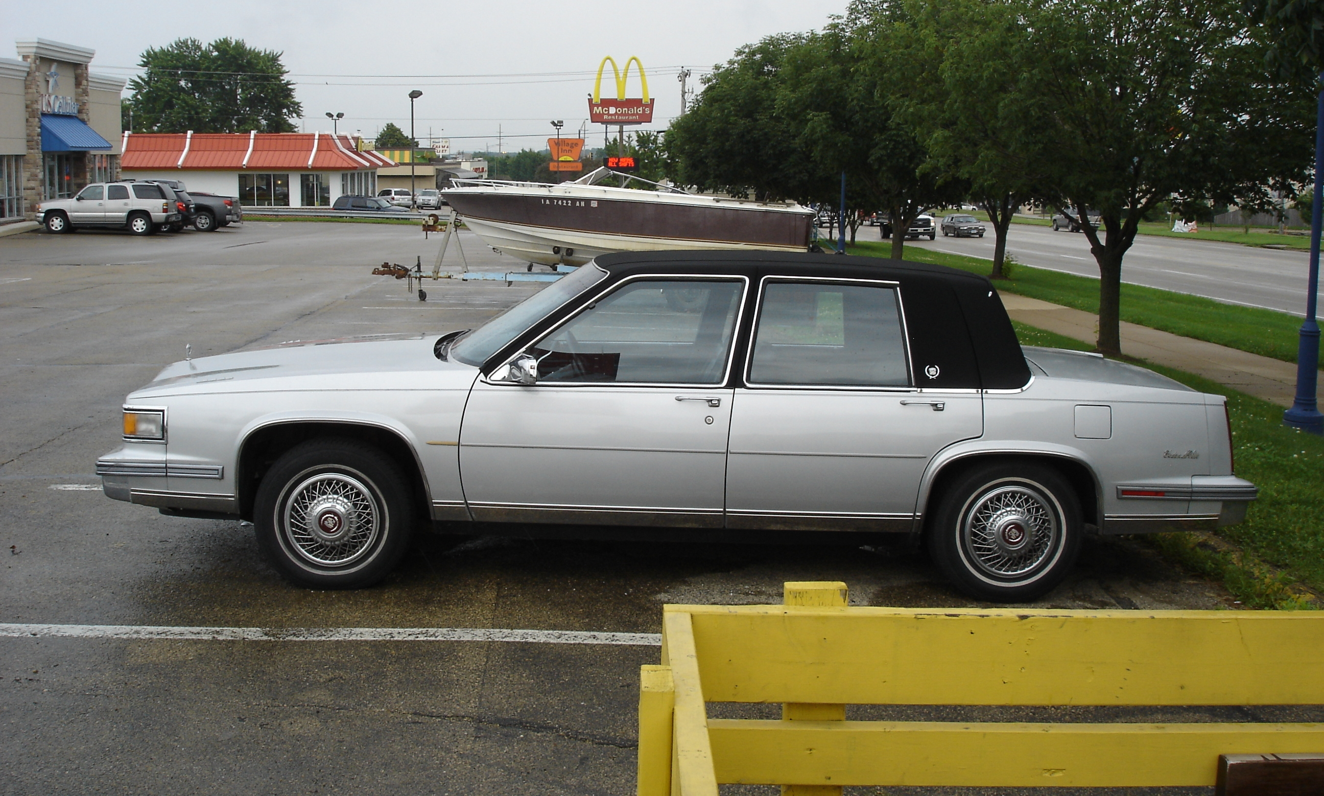 1986 Cadillac Sedan De Ville Downsizing Round Two Riverside Green 50s V8 Engine