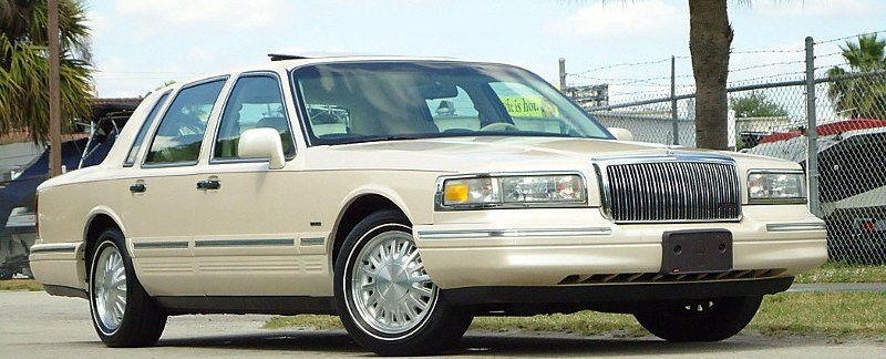 1997 Lincoln Town Car Last Call For Opera Windows Riverside Green