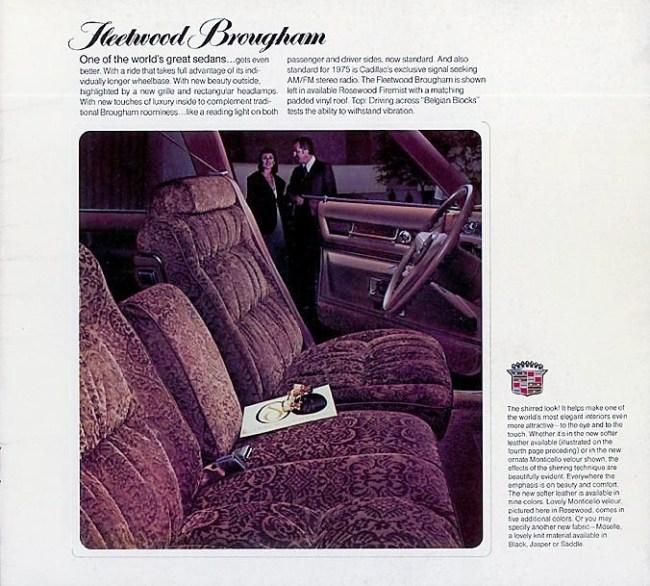 75 Fleetwood Brougham brochure 2