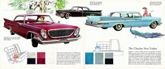 1961 New Yorker lineup