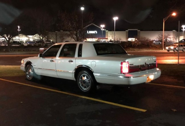 1997 Lincoln Town Car Signature Series Family Car Found