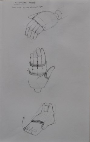 Marionette hands and feet