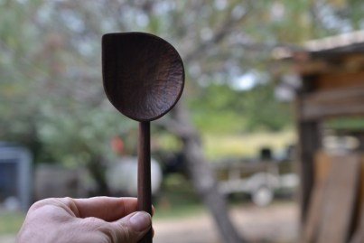 walnut spoon