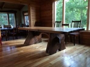 Prairie Creek Table (White Oak and Black Walnut)