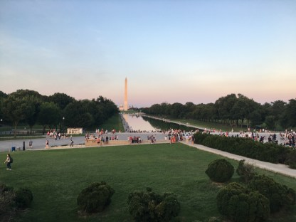 View from Front of Lincoln Memorial