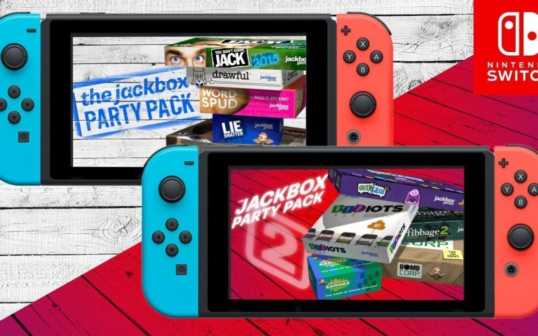 The Jackbox Party Packs 1 & 2 Coming to Nintendo Switch™ on August 17